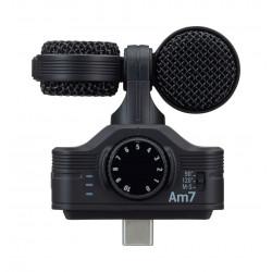 Zoom Am7 - Microphone stéréo Mid-Side pour Android - USB-C