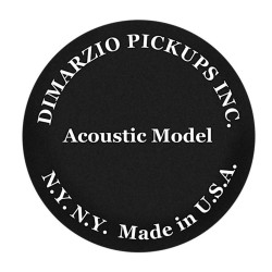 DiMarzio DP130BK - Acoustic Model - noir - Micro guitare acoustique