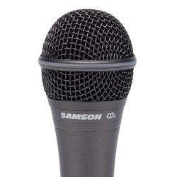 Samson Q7X - Microphone dynamique supercardioïde