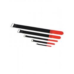 RockBoard Serre-câble - 10 Pack - 20 mm x 200 mm - Red