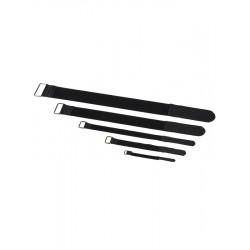 RockBoard Serre-câble - 10 Pack - 20 mm x 300 mm - Black