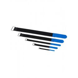 RockBoard Serre-câble - 10 Pack - 20 mm x 300 mm - Blue