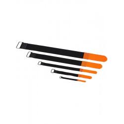 RockBoard Serre-câble - 10 Pack - 20 mm x 300 mm - Orange