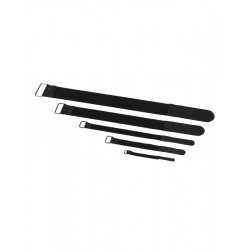 RockBoard Serre-câble - 10 Pack - 40 mm x 400 mm - Black