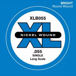 Corde au détail basse électrique D'addario XL Nickel Long 055 - XLB055