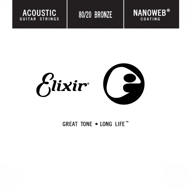 Elixir 014 - Corde au détail guitare électrique