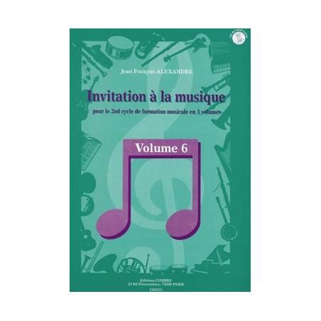 Invitation à la musique Vol.6 - Jean-Francois Alexandre (+ audio)