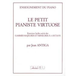Le petit pianiste virtuose - Antiga Jean