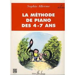 Méthode de piano des 4-7 ans - Sophie Allerme