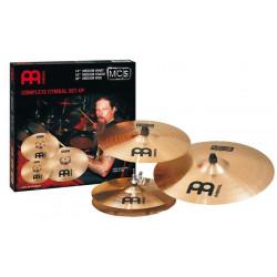 Set de 3 Cymbales Meinl MCS 14-16-20 Jeu bronze