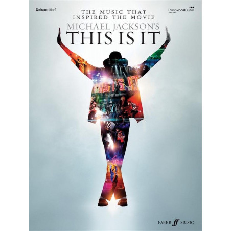 Mickael Jackson This is it - Piano Voix Guitare
