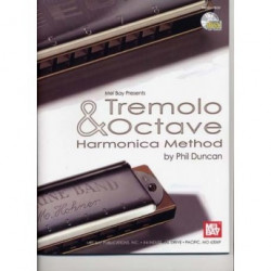 Phil Duncan: Tremolo And Octave Harmonica Method (+CD)