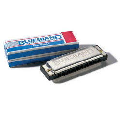 Hohner Blues Band 10 trous Do - Harmonica diatonique d'initiation