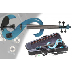 Violon électrique Stagg EVN 4/4 blue transparent