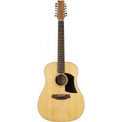 Guitare 12 cordes électro Cole Clark Fat Lady bunya maple FL1-12BM