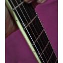 Guitare électrique Jackson DKMG occasion noir transparent