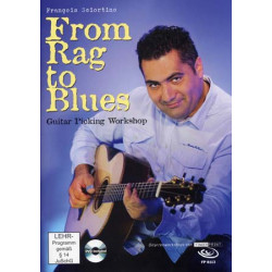 From rag to Blues François Sciortino (+ DVD)