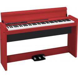 Korg LP380 RD - Piano numérique rouge