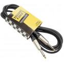 Câble jack guitare 3 m - Yellow câble GP63D