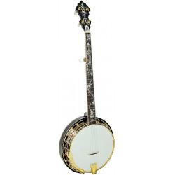 Banjo Bluegrass Orange Blossom Gold Tone OB-300 (avec étui)