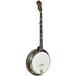 Banjo Bluegrass Orange Blossom Light Weight Gold Tone OB-250LW (avec etui)