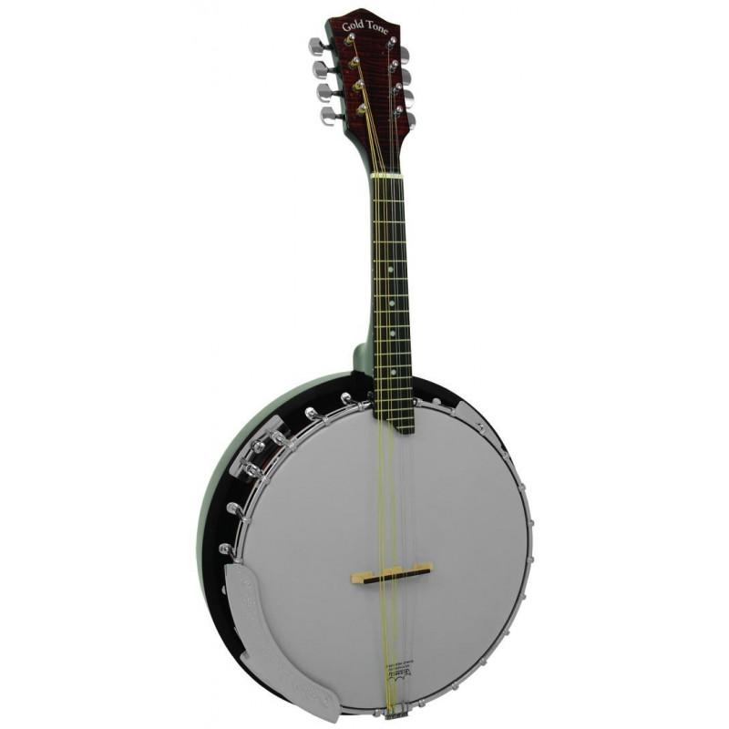 Mando Banjo Gold Tone MB-850+