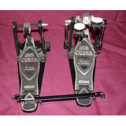 Double pédale Grosse Caisse TAMA Iron Cobra Power Glide HP900 occasion