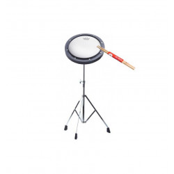 Pack Pad d'entrainement Remo 8'' + Stand Stagg LPPS-25R + Baguettes Vic Firth 7A