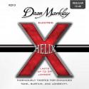 Jeu de cordes guitare électrique - Dean Markley Helix HD regular 2513
