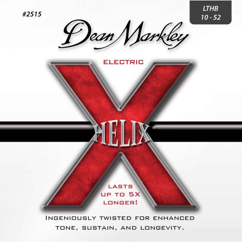 Jeu de cordes guitare électrique - Dean Markley Helix HD Light 2515