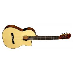 Guitare classique électro Kala Thinline Epicéa