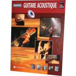 Horne Guitare acoustique débutant (+CD)