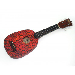 Kala Novelty Pineapple KA-PSS (+ housse) - Ukulele Soprano
