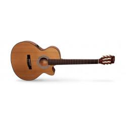 Cort CEC1 OP - naturelle Pores ouverts - Guitare classique électro-acoustique