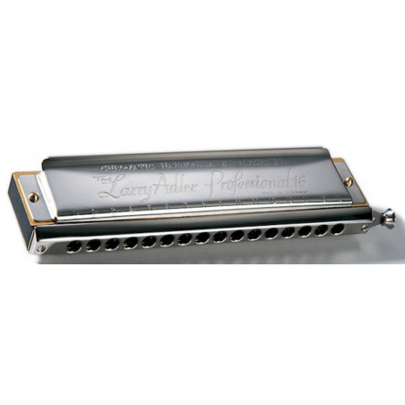 Hohner Larry Adler 16 trous C - Do - Harmonica chromatique
