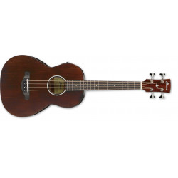 Ibanez AVNB1E-BV, Brown Violin semi Gloss - Basse électro-acoustique