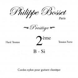Corde de si Bosset Prestige tension forte - guitare classique