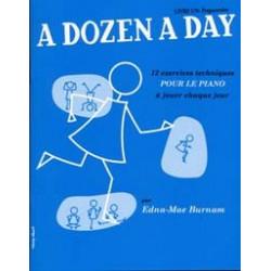 Dozen a day livre 1 en francais (bleu) – piano -  Burnam Edna Mae